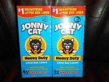 New listing Lot of Jonny Cat Heavy Duty Tear Resistant Litter Box Liners 7-Jumbo Liners
