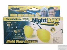 Lunette de Conduite de Nuit non Correctrice Protection Nocturne Auto Moto VU TV
