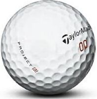 50 Taylormade Project A Used Golf Balls AAA 3(A) Good Quality