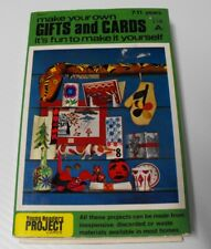 Young Readers Project Cards Gifts and Cards c.1970 Recycle materials