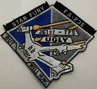 Babylon 5 Star Fury Grey FA-23E Ugly But Well Hung 361st TFS Uniform Patch