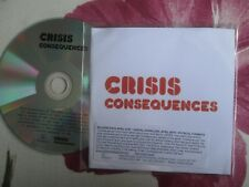 Crisis (Beth Ditto Paul Weller The Enemy Supergrass) Consequences Promo CD