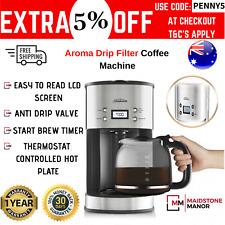 Sunbeam Aroma Drip Filter Coffee Machine Automatic Coffee Maker Stainless New