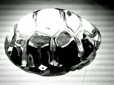 STEUBEN Glass TURTLE Hand Cooler | Signed Crystal Paperweight