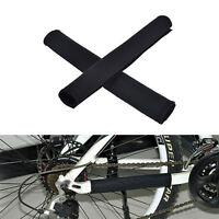 2X Cycling Bicycle Bike Frame Chain stay Protector Guard Nylon Pad Cover Wrap FO