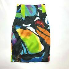 Ted Baker London High Waist Skirt Lined Bold Multi Pockets Zip Closure Women 0