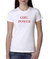 Girl Power T Shirt Feminist Feminism Slogan Girls Spice Women Summer