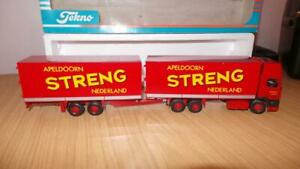 HB39: Tekno 1:50 Scale DAF 95 Streng Netherlands Rigid & Trailer - Exc / Boxed