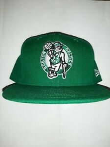 New Era NBA20 City Off 9Fifty Snapback Cap Boston Celtics Wei/ß Gr/ün