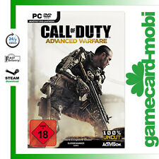 Call of Duty11 Advanced Warfare Key PC Game STEAM Download Code CoD 11 AW EU/UK