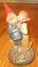Tom Clark Artist Pen Signed Thank You Gnome Boy And Girl 1992