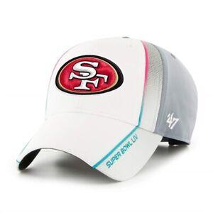 San Francisco 49ers NFL Super Bowl LIV Gray ID MVP Adjustable Hat Cap