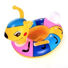 Ant Inflatable Baby Child Handle Safety Seat Float Ring Raft Chair Pool Swimming