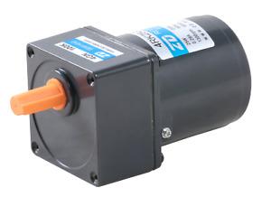AC Reversibler Getriebemotor mit Getriebe 25W 220V CW/CCW Untersetzung 180