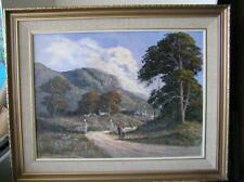 Luther Marais Original Oil Painting South Africa listed ARTIST 1989 framed 30x24