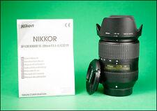 Nikon AF-S VR 18-300mm F3.5-6.3 G ED  Zoom Lens + Both Lens Caps,Hood & Manual