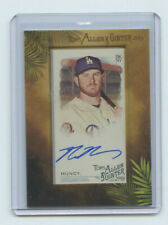 2019 TOPPS ALLEN & GINTER BLUE AUTOGRAPH MAX MUNCY LOS ANGELES DODGERS