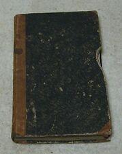 1839 German Language Grammer Book - Hard Cover