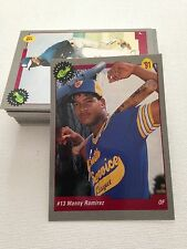 1991 Classic Baseball Draft Picks - 50-card set + 7 - (Manny Ramirez)
