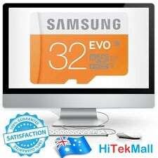 Samsung Evo 32GB micro SD SDHC 48MB/s UHS-I Class 10 Mobile Camera Memory Card