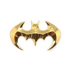 Car SUV Off Road Tailgate Golden Batman Logo Plating Metal Emblem Sticker Badge