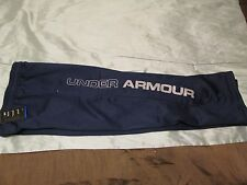 New Under Armour Boys Navy ColdGear Fleece Lined Sweat Pants YMD  FREE SHIPPING!