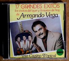 ARMANDO VEGA Y SU TRIO CASINO TROPICAL -  17 GRANDES EXITOS