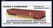 Funaro F&C 8351  PENNSYLVANIA Railroad PRR G22 46' GONDOLA G-22 Kit 1-PIECE BODY