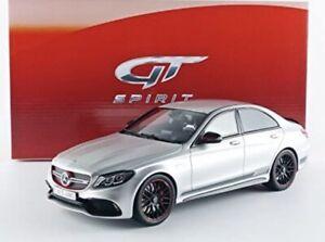1:18 GT SPIRIT  GT068 Mercedes-Benz  C-Class C63 AMG S Sedan Ed 1 Grey resin NEW