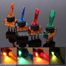 INTERRUPTEUR A LED BLEU / ROUGE / VERT / ORANGE TUNING 106 206 306 406 PEUGEOT