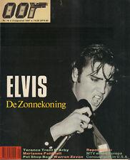 MAGAZINE OOR 1987 nr. 16 - ELVIS PRESLEY / MARIANNE FAITHFULL / WARREN ZEVON