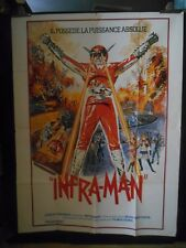 AFFICHE originale grand format ( 120 x 160 ) INFRA MAN -1975