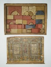 Anker-Steinbaukasten 4A ca.1910 - Anker Stone Blocks Construction Set 4A