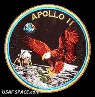 "Apollo 11  Mission Commemorative 5"" Tim Gagnon ORIGINAL AB Emblem NASA PATCH"