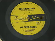 """TOWN CRIERS ROUNDABOUT FESTIVAL orig OZ GARAGE MOD PHASING POPSIKE 7"""" 45 EX"""
