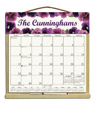 PERSONALIZED CALENDAR WITH 2018, 2019 & AN ORDER FORM FOR 2020 -   Pansies