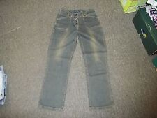 "Brooker Jeanswear Collection Size 10 Leg 27"" Faded Dark Blue Ladies Jeans"