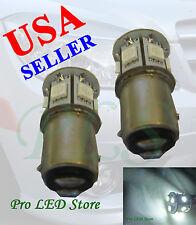 1157 1034 1154 White 9 SMD LED BAY15D Backup Turn Signal Dome Light Bulbs