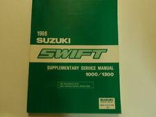 1996 Suzuki Swift 1000/1300 Supplementary Service Manual FACTORY NEW BOOK 96