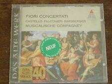 FIORI CONCERTATI Castello-Falconieri-Kapsberger CD NEUF