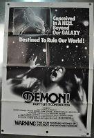 Demon! Original One Sheet Movie Poster 1976 27 x 41