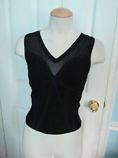 bebe  bandage top  xs black nwt                      #318
