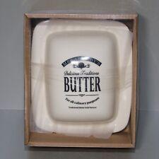 Butterdose aus Porzellan Keramik NEU & OVP Butterglocke