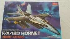 """F/A 18D """"NIGHT ATTACK"""" - ACADEMY - SEALED IN BOX"""
