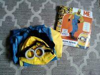 Men's Minion Kevin Costume XL
