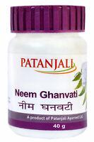 Patanjali Neem Ghanvati Tablets Beneficial in Skin Diseases 40 gm