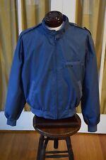 Vintage Members Only Cafe Racer Windbreaker Jacket Men's 46 Blue