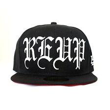 D9 (D Nine Reserve), RE-UP Old English Snapback Hat, Black
