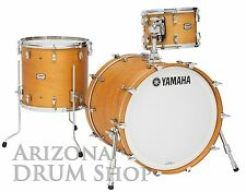 Yamaha Absolute Hybrid Maple 3pc. Drum Shell Pack VINTAGE NATURAL 13/16/22 NEW