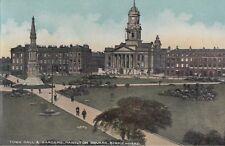 BIRKENHEAD (Lancashire) : Town hall and Gardens,Hamilton Square -STATE series